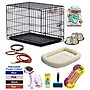 PSUSA Girl Puppy Pet Crate; Small (24'' H