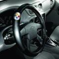 Northwest Co. NFL Steering Wheel Cover; Pittsburgh Steelers