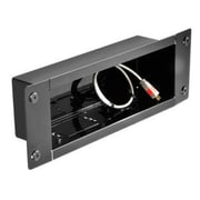 Peerless In-Wall Metal Box; Gloss Black