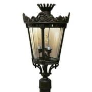 Melissa Tuscany TC4350 Series 22'' Post Lantern; Architectural Bronze
