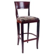 Benkel Seating Biedermier 30'' Bar Stool with Cushion; Medium Oak