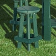 Little Cottage Company Bar Stool; Bright White