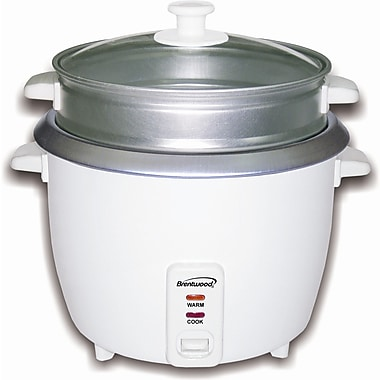 Brentwood Rice Cooker/Steamer; 15 Cups