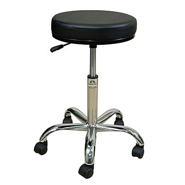 Oakworks Height Adjustable Professional Stool w/ Swivel Seat; Orchid