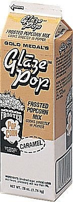 Snappy Popcorn 28 oz Gold Medal Glaze Pop; Caramel WYF078275610441