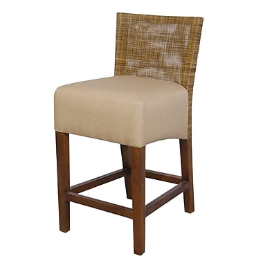 Jeffan Karyn Bar Stool with Cushion
