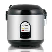 Oyama Rice Cooker, Warmer and Steamer; Black
