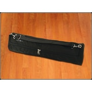 Crescent Moon Mat Tube Yoga Mat Bag in Black
