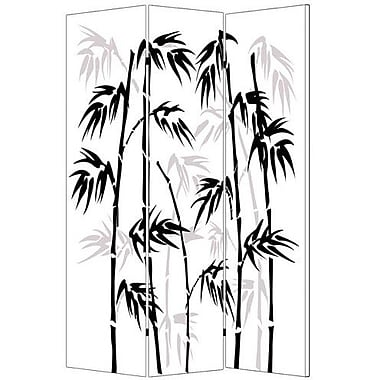 Screen Gems 72'' x 48'' Leaf Screen 3 Panel Room Divider