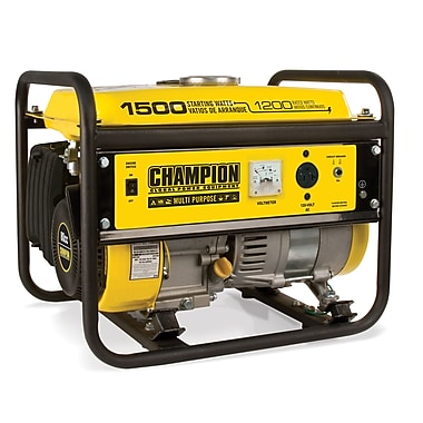 Champion Power Equipment 1500 Watt CARB Portable Gasoline Generator