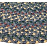 Thorndike Mills Pioneer Valley II Meadowland Blue Multi-colored Runner Rug; Runner 2'3'' x 9'