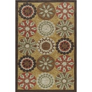 Momeni Summit Gold Area Rug; 2' x 3'