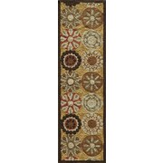 Momeni Summit Gold Area Rug; Runner 2'3'' x 7'6''