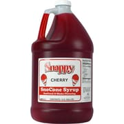 Snappy Popcorn Snow Cone Syrup; Cherry