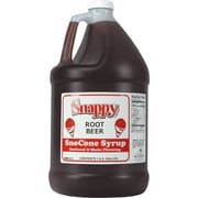 Snappy Popcorn Snow Cone Syrup; Root Beer