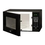Haier 0.9 Cu. Ft. 900W Countertop Microwave; Black