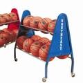 FlagHouse 30'' Ball Cart; Blue
