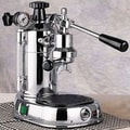 La Pavoni Professional Espresso Machine with Base; Chrome