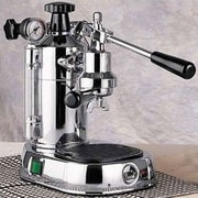 La Pavoni Professional Espresso Machine w/ Base; Chrome