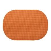 Kraftware Fishnet Placemat (Set of 12); Spice Orange
