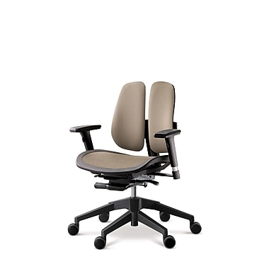 Duorest Alpha Mesh Seat Office Chair; Brown
