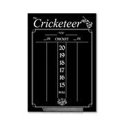 Dart World Cricketeer Chalkboard Scoreboard Backboard