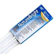 Nature Bright 32W (16999K) Fluorescent Light Bulbs