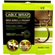 UT Wire Cable Management 12 Ft Flexi Cable Wrap