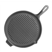 Universal Housewares Pre-Seasoned 10'' Grill Pan and Griddle