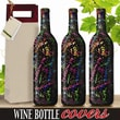 Kimco Products Celebration Wine Bottle Cover (Set of 3)