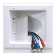 Peerless In-Wall Plastic Cable Plate