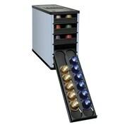 YouCopia 60 Pod Organizer for Nespresso Capsules; Steel Blue