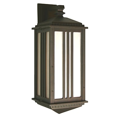 Melissa Parisian Elegance 1-Light Outdoor Wall Lantern; Old Copper