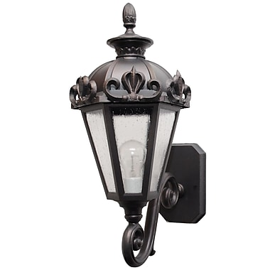 Melissa Parisian Elegance 1 Light Outdoor Sconce; Old World