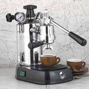 La Pavoni Professional Espresso Machine w/ Base; Black