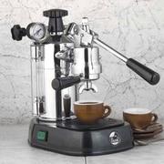 La Pavoni Professional Espresso Machine with Base; Black