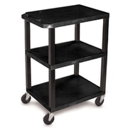H. Wilson Commercial Utility Cart; Black