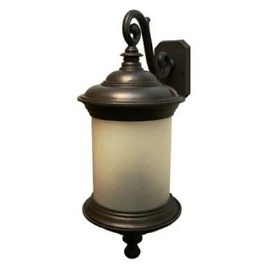 Melissa Tuscany 3 Light Outdoor Wall Lantern; Old Iron