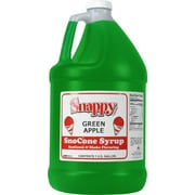 Snappy Popcorn Snow Cone Syrup; Green Apple