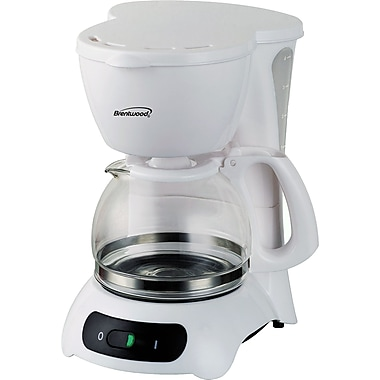 Brentwood Coffee Maker; White