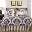 Pointehaven Luxury 12 Piece Comforter Set; Full