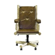 Montana Woodworks  Montana Upholstered Office Chair; Lacquered