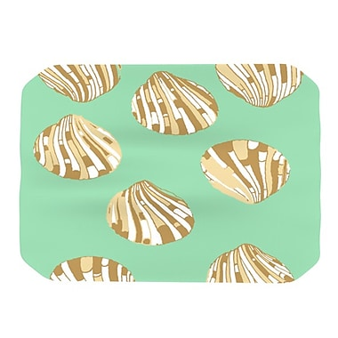 KESS InHouse Scallop Shells Placemat