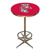 Imperial NCAA Pub Table; Wisconsin