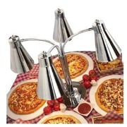 Buffet Enhancements Multi-Flex Stainless Steel Quad Heat Lamp