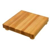John Boos BoosBlock Square Maple Cutting Board; 9 x 9