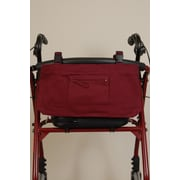 Granny Jo Products Wheelchair/Walker/Scooter Bag; Burgandy