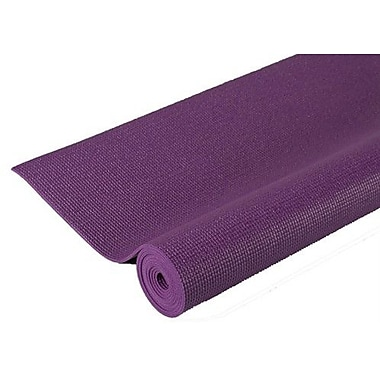 J Fit Extra Thick Pilates Yoga Mat in Purple