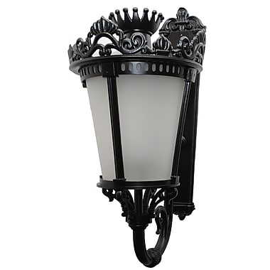 Melissa Tuscany 3 Light Outdoor Sconce; Old Iron