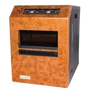 EcoHeater 5,115 BTU Portable Electric Infrared Cabinet Heater with Remote Control